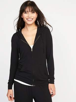 Old Navy Relaxed Lightweight Full-Zip Hoodie for Women