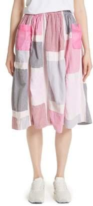 Comme des Garcons Patchwork Skirt