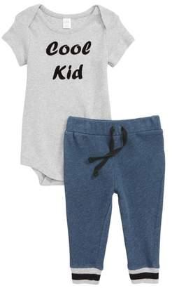 Nordstrom Cool Kid Bodysuit & Sweatpants Set