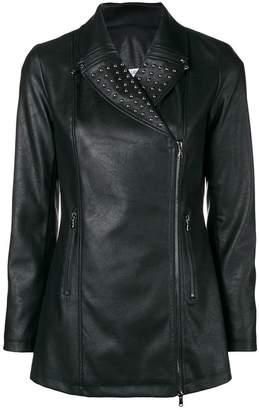 Liu Jo longline biker jacket