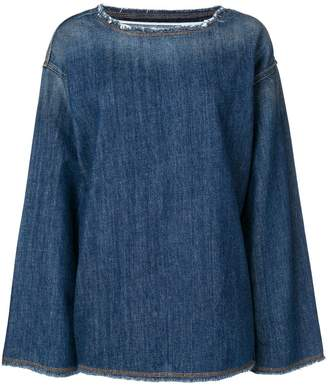 MM6 MAISON MARGIELA 80's wash denim top