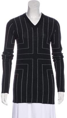 Edun Merino Wool Geometric Sweater