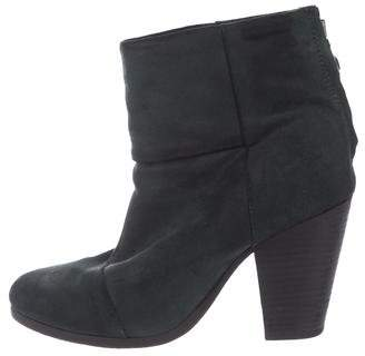 Rag & Bone Suede Newbury Ankle Boots