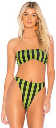 Norma Kamali Sunglass Bikini Top