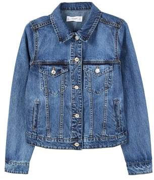 MANGO Dark denim jacket