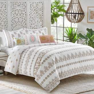 Dena Designs Marielle 100% Cotton Reversible Duvet Set