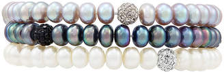 Honora LEGACY LIMITED QUANTITIES! Multi Color Cultured Freshwater Pearl Beaded Bracelet