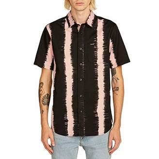 Volcom Men's Fade This Short Sleeve Button Up Shirt
