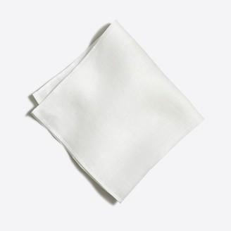 Mercantile Linen pocket square