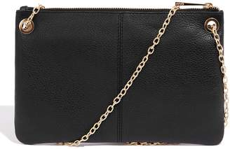 Next Womens Oasis Black Leoni Clutch