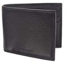 Emporio Armani Leather Bi-Fold Wallet