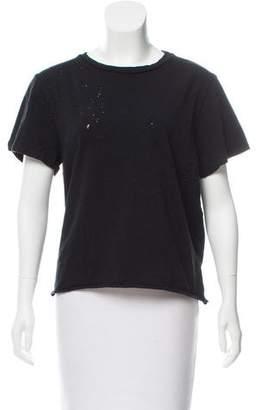 Amiri Shotgun Distressed T-Shirt w/ Tags