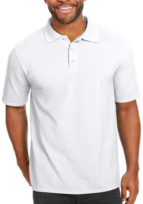 Hanes Short Sleeve Pique Polo Shirt