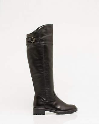 Le Château Italian Design Leather Lug Sole Boot