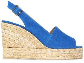 Castaner Canvas Espadrille Wedge Sandals