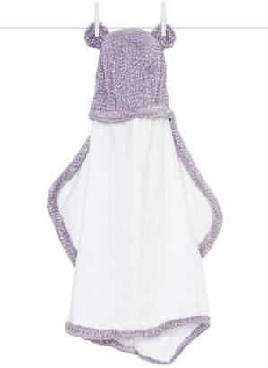 Little Giraffe Lavender Herringbone Towel