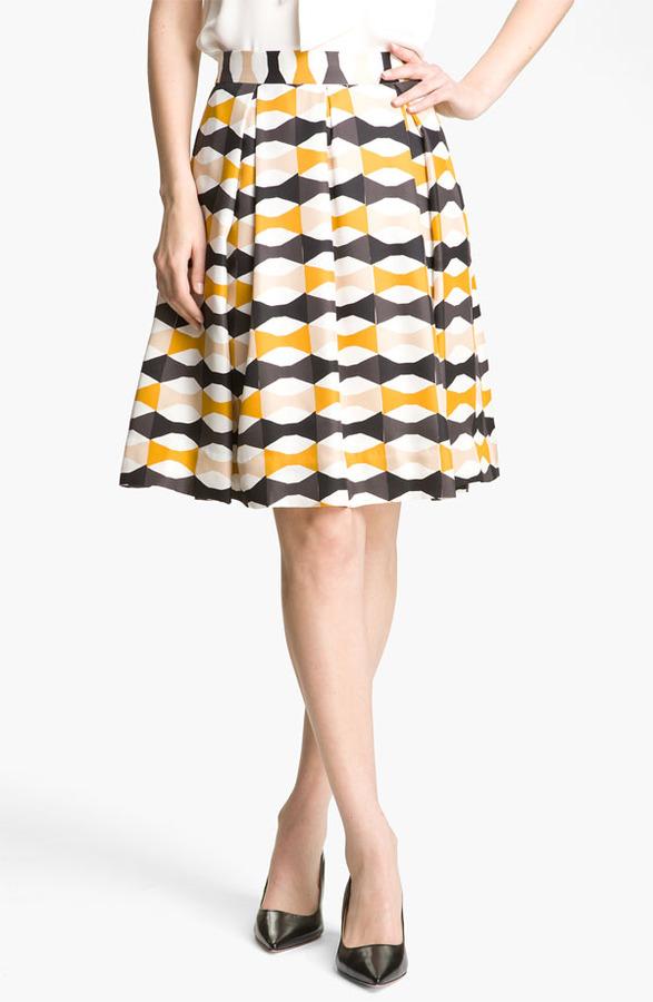 Kate Spade New York 'jolie' Silk Skirt