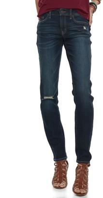 So Low So Juniors' Rise Skinny Jeans