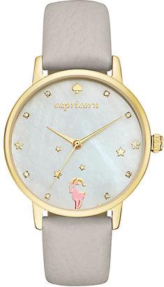 Capricorn zodiac metro watch $195 thestylecure.com