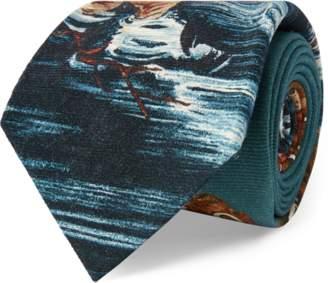 Ralph Lauren Silk Crepe Narrow Tie