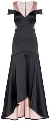 Temperley London V-neck Onyx Dress