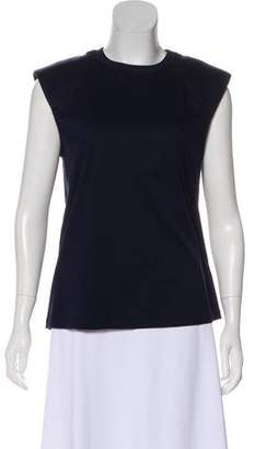 Tibi Sleeveless Crew Neck Top w/ Tags