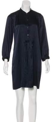 Nili Lotan Silk Shift Dress