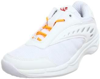 Chung Shi Chung -Shi Women's AuBioRiG Balance Step Sport weiß mit orangenen Schuhbändern Walking Shoes White Size: 5