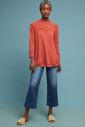 Paige Nellie High-Rise Culotte Petite Jeans
