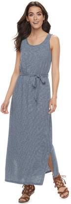 Sonoma Goods For Life Petite SONOMA Goods for Life Scoopneck Maxi Dress