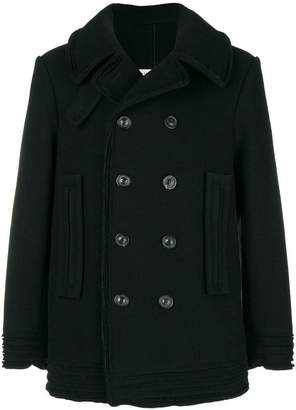 Maison Margiela double-breasted fitted coat