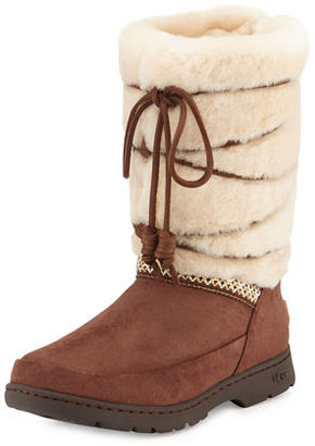 UGG Maxie Lace-Up Weatherproof Boot $230 thestylecure.com