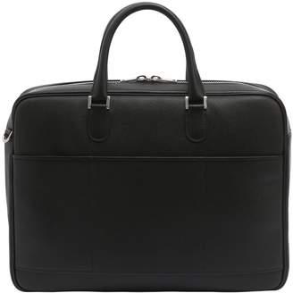 Valextra Vietta Leather Briefcase