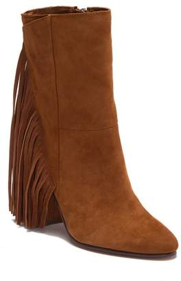 Dolce Vita Rhoda Suede Fringe Mid Boot