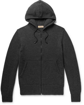 Burberry Cashmere Zip-Up Hoodie