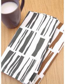 Paper Cloud Wood Planks Napkin