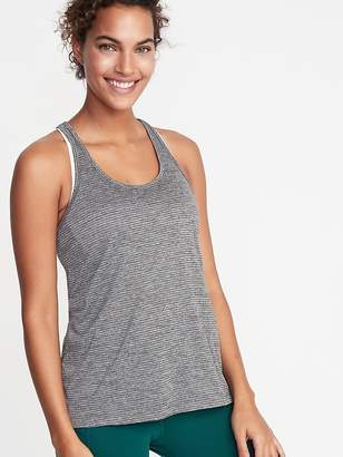 a2e9057a44653 Old Navy Shadow-Stripe Racerback Performance Tank for Women