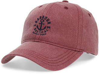 313ce9ee95c Barbour Nautical Washed Baseball Cap