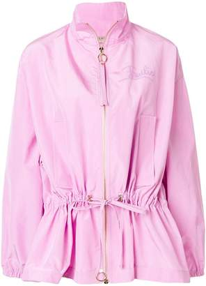Emilio Pucci zipped drawstring jacket