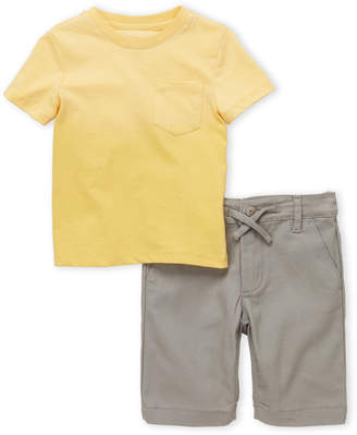 AG Adriano Goldschmied Toddler Boys) Two-Piece Tee & Shorts Set