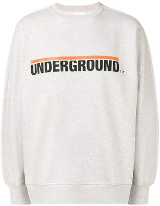 Études Underground sweater