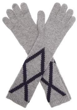 Max Mara Paolo Gloves - Womens - Grey