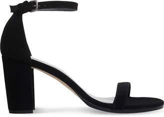 Stuart Weitzman NearlyNude suede heeled sandals