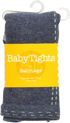 Baby Legs Darling Denim-Footless Tights