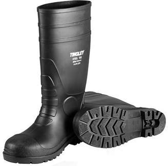 Tingley Rubber Corp RUBBER Steel-Toe Boots, Black PVC, 15-In., Men's Size 14