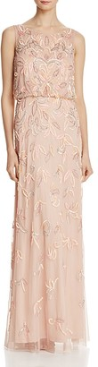 Adrianna Papell Beaded Blouson Gown $379 thestylecure.com