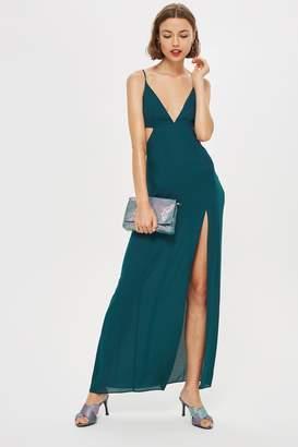Topshop Cut Out Side Maxi Dress