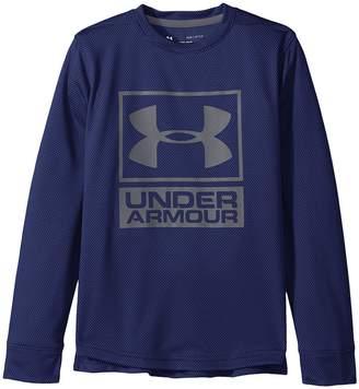 Under Armour Kids Textured Tech Crew Boy's Clothing