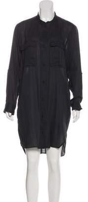 Etoile Isabel Marant Knit Shirt Dress