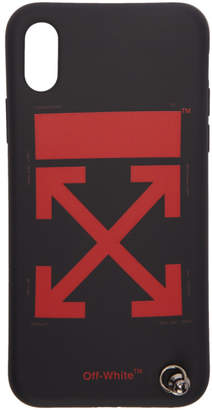 Off-White Black Arrows Strap iPhone X Case
